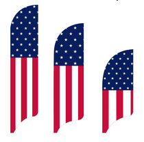 Stars & Vertical Stripes Flag Kit