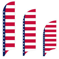 Stars & Horizontal Stripes Flag Kit