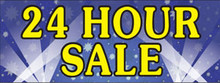 24hr Sale Full with spotlights banner