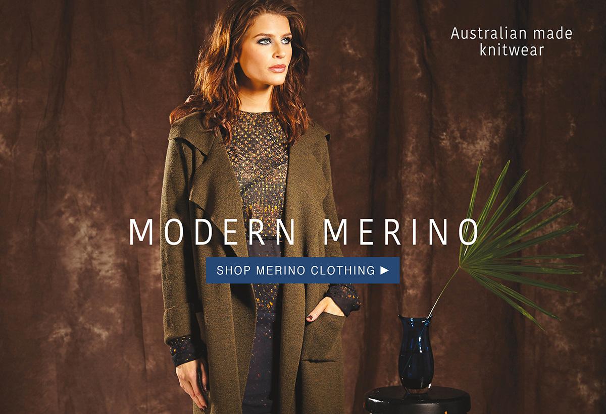 shop merino clothing