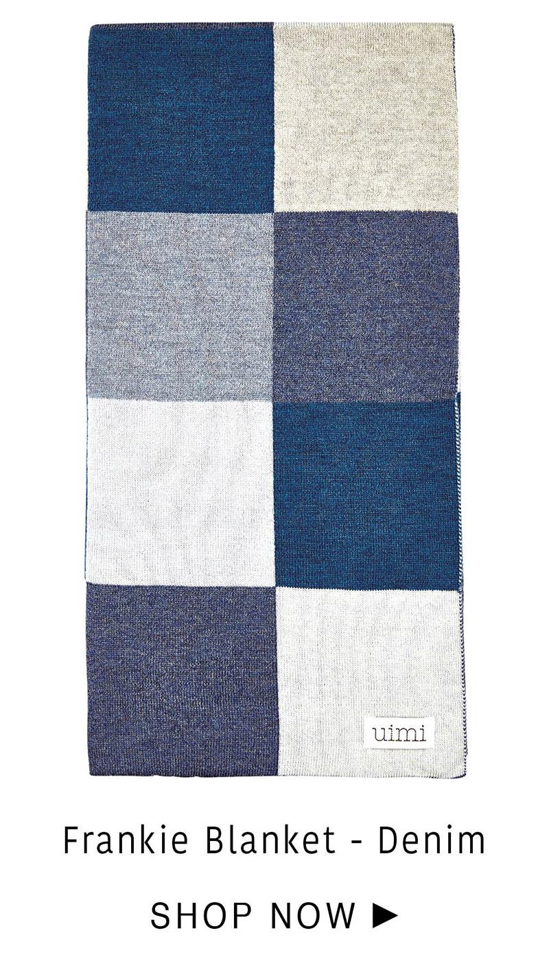 Frankie Blanket - Denim