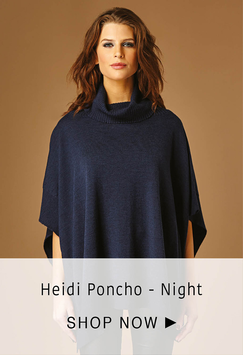 Heidi Poncho - Night