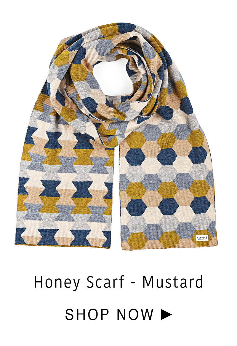 Honey Scarf - Mustard