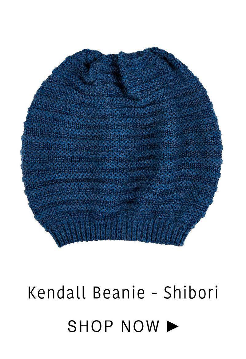 Kendall Beanie - Shibori