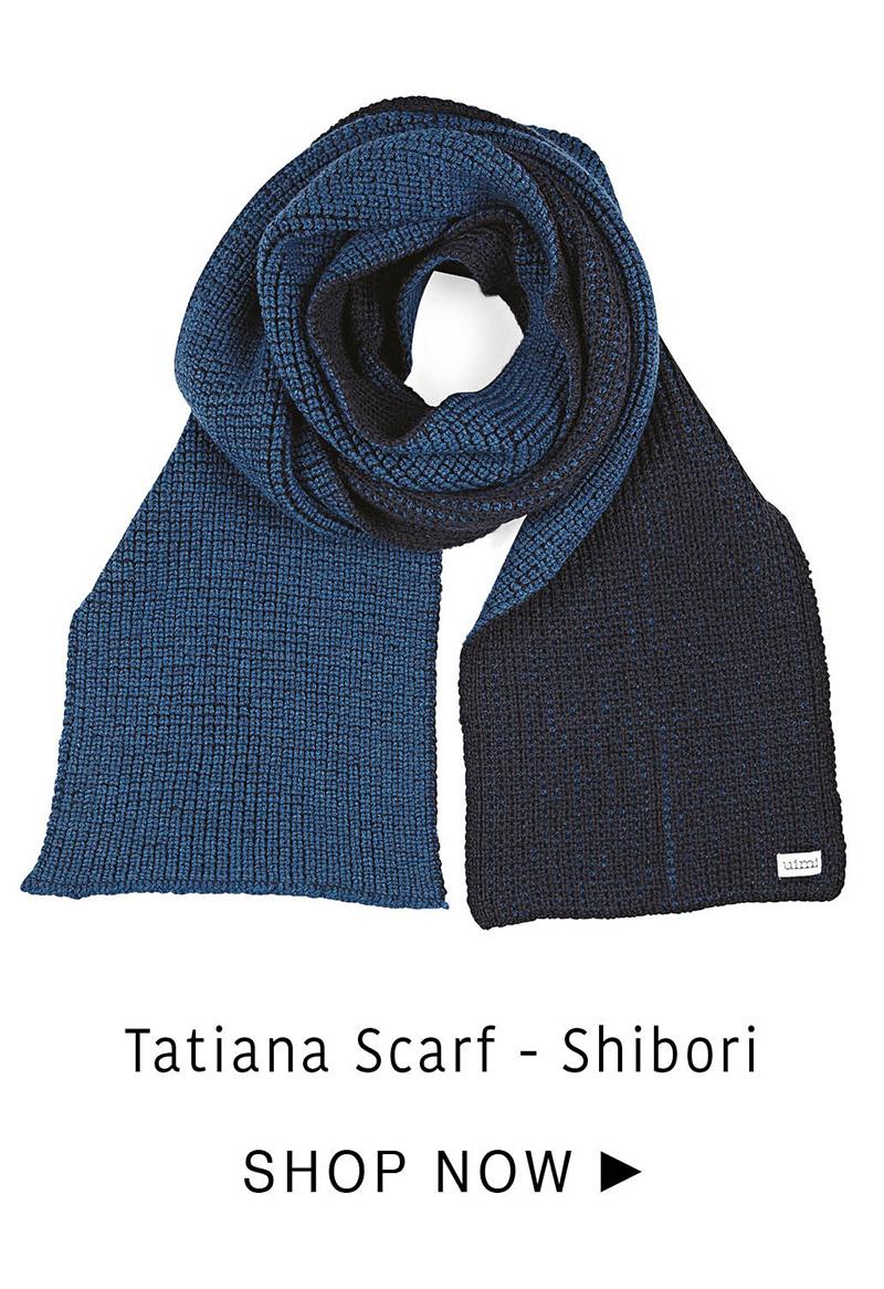 Tatiana Scarf - Shibori