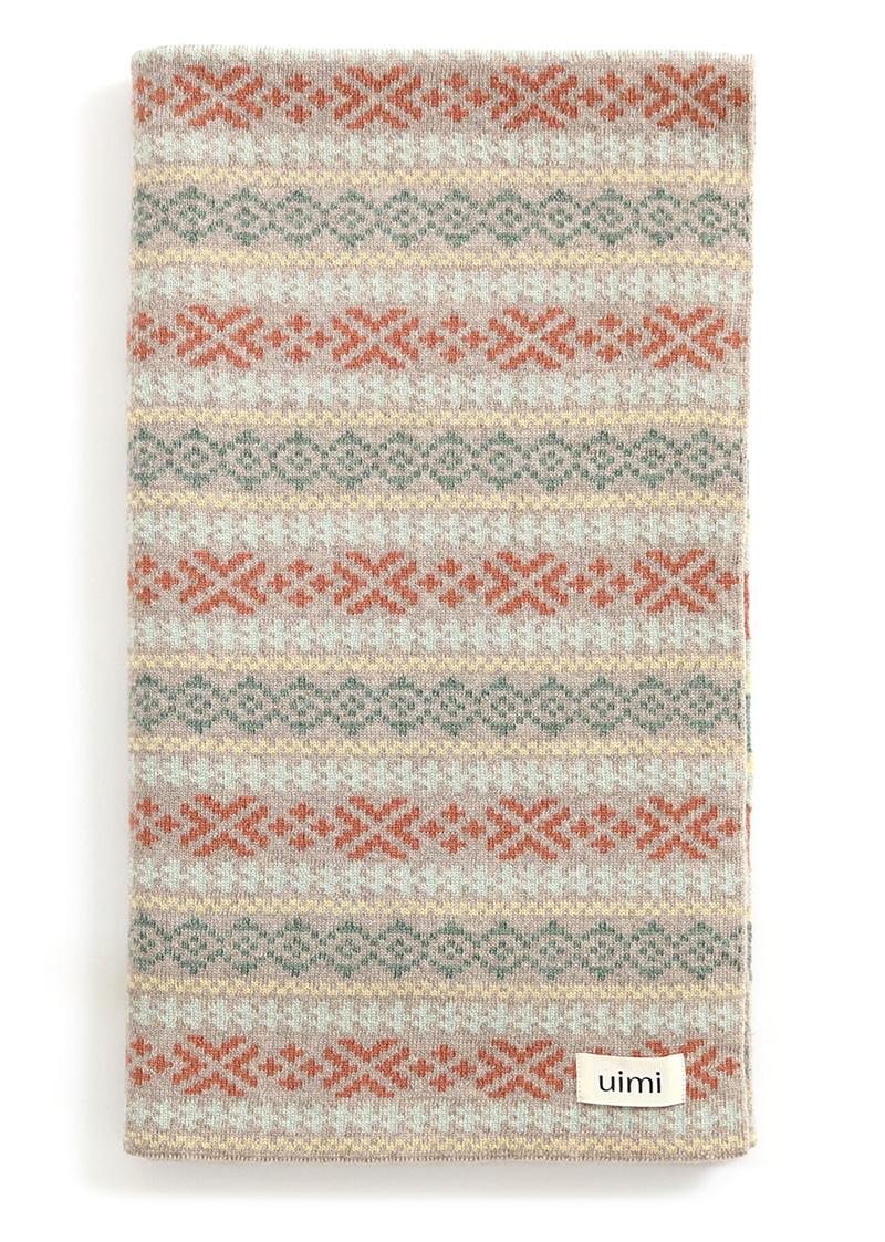 alice blanket - merino wool - wheat