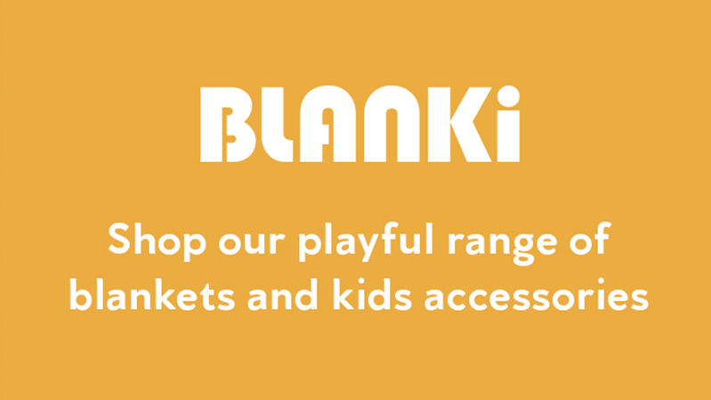 Blanki - Shop our playful range of cotton blankets and kids accessories