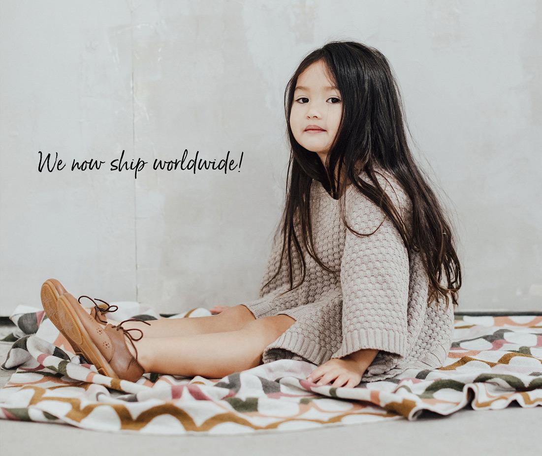 we now ship worldwide!