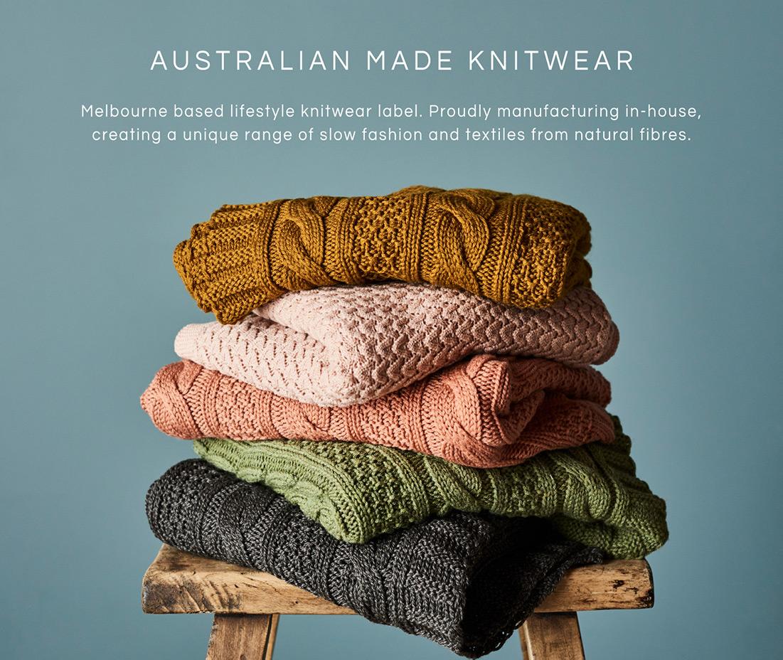 australian made knitwear