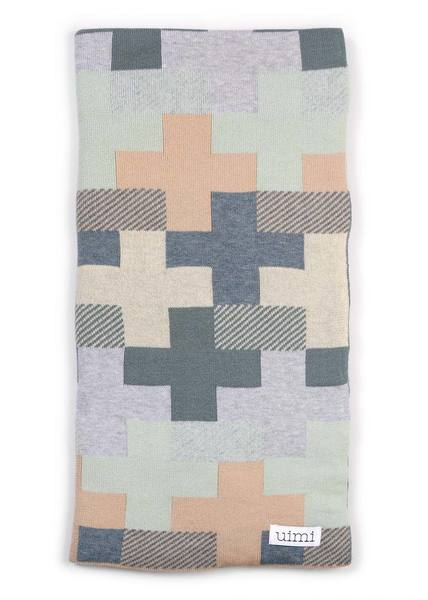 max blanket - egyptian/combed cotton - duck egg