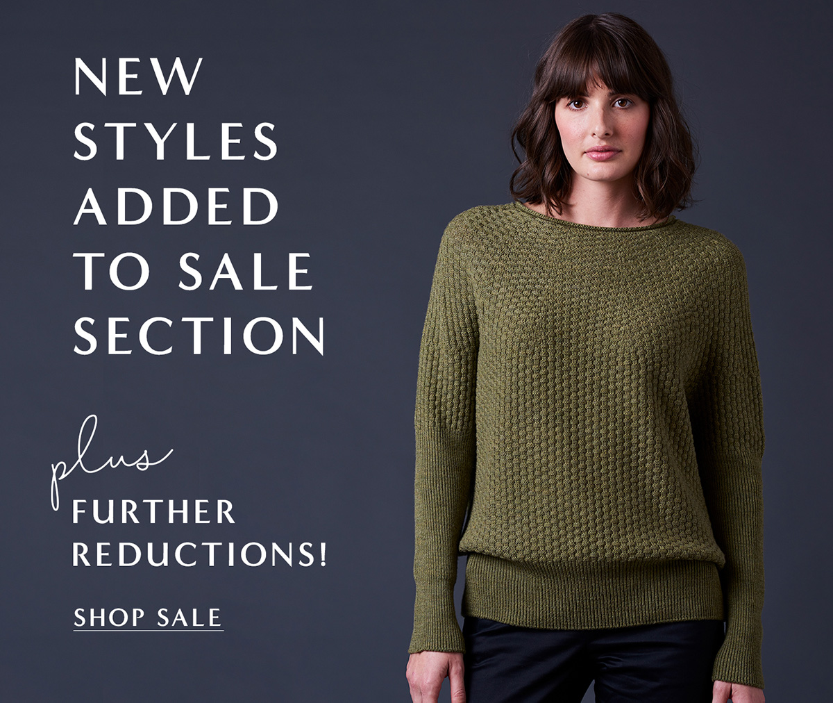 new styles added to sale!
