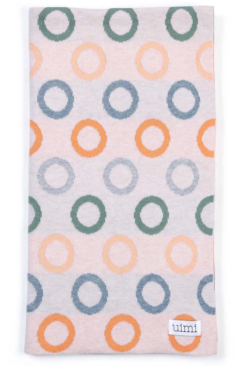 Fruit Loops Blanket - Apricot