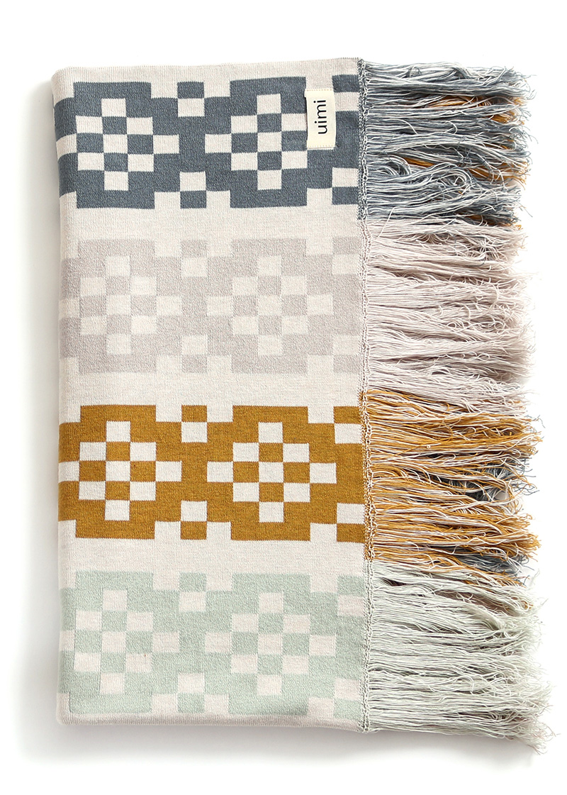 willa blanket - egyptian/combed cotton - duck egg