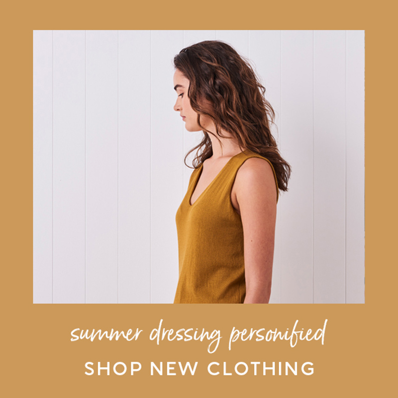 shop new clothing - summer 2020