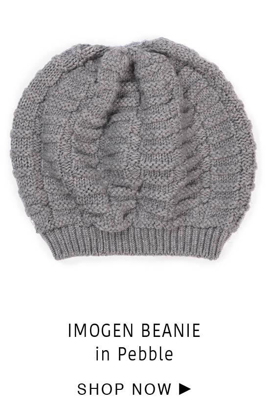 Imogen Beanie - Pebble