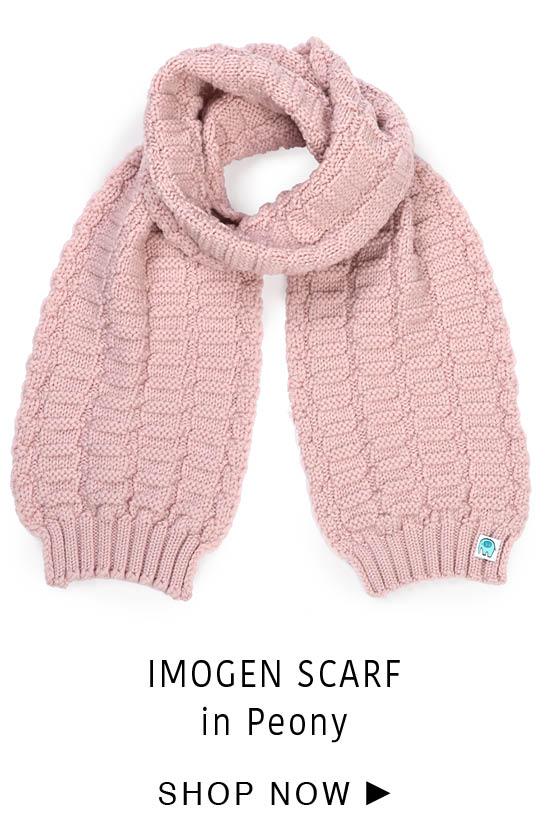 Imogen Scarf - Peony