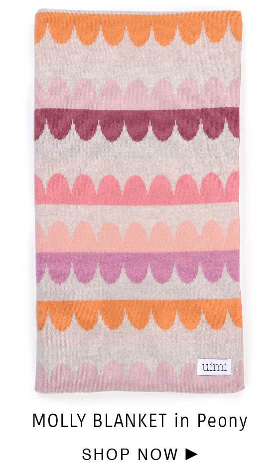 Molly Blanket - Peony