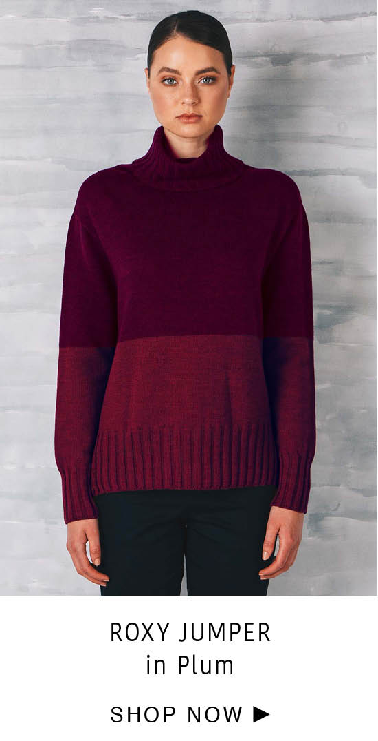 Roxy Jumper - Plum