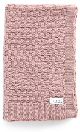 bellamy blanket - merino wool - blossom