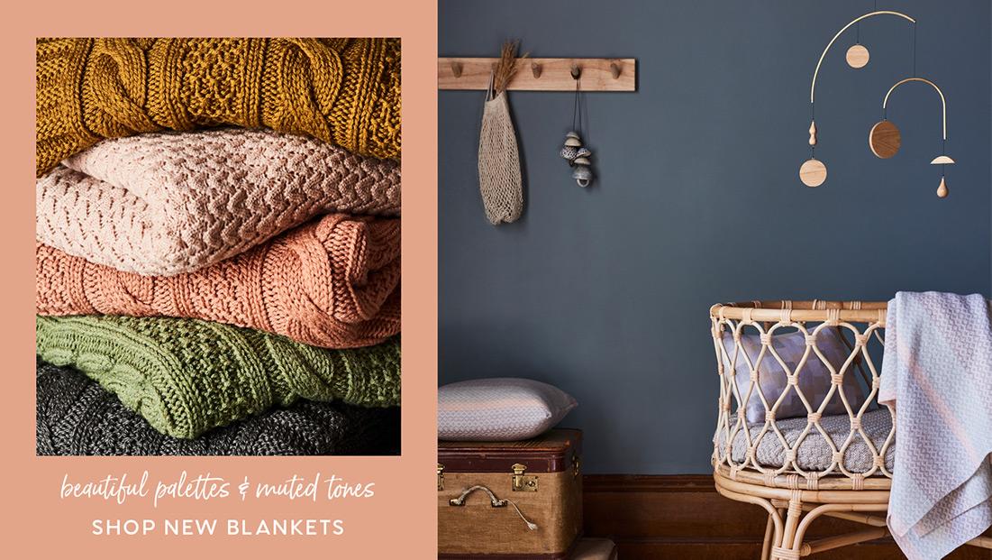 shop new blankets - winter 19