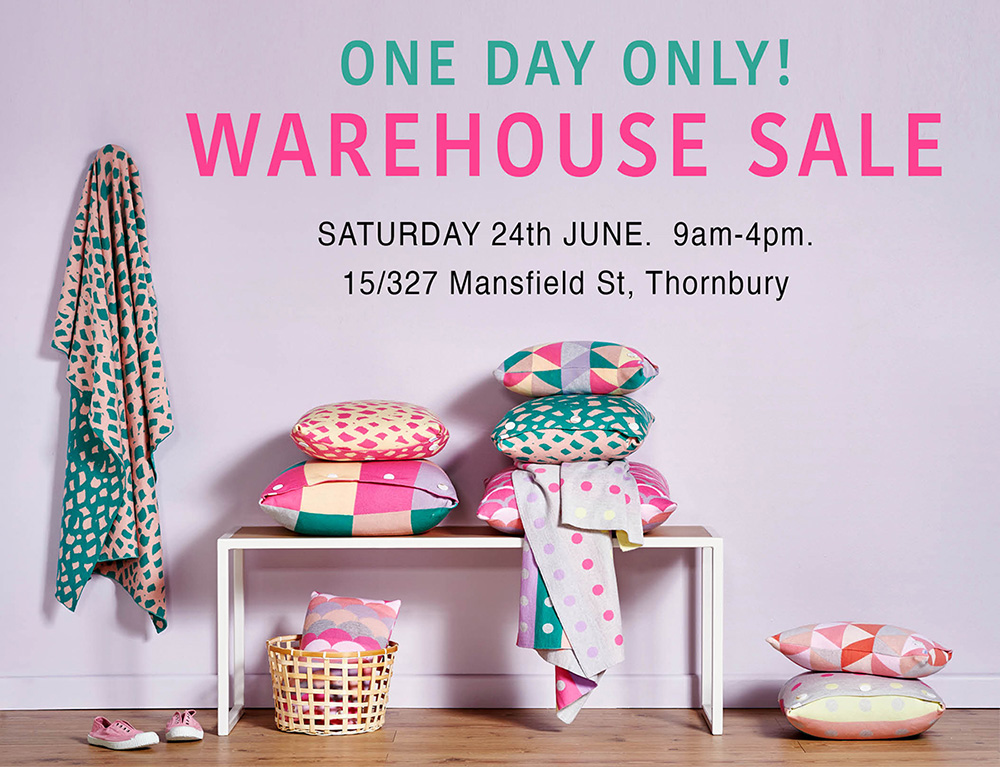 Warehouse Sale - June 24th