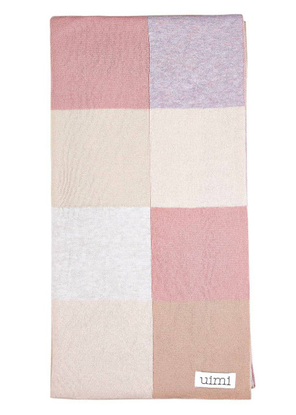 Frankie blanket - Antique Rose