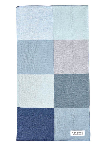 Frankie blanket - Denim