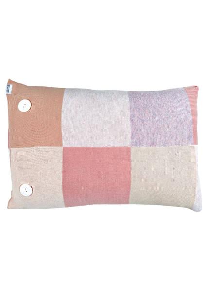 Frankie cushion - Antique Rose