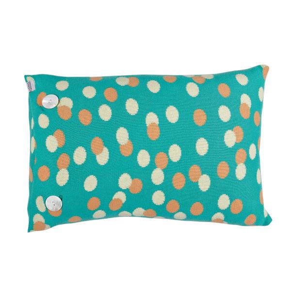 Freckles cushion - Jade