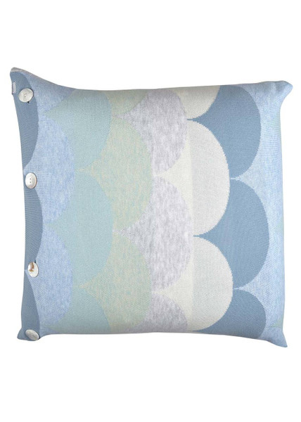 Memphis cushion - Sky (front)
