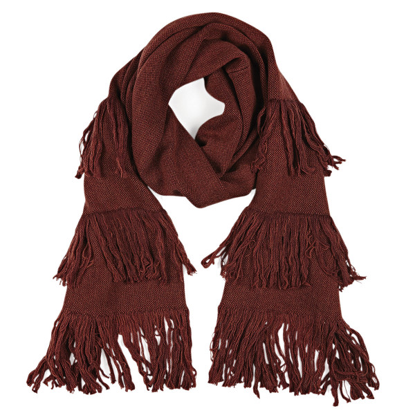 Delany scarf - Rust