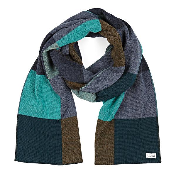 Frankie scarf - Peacock