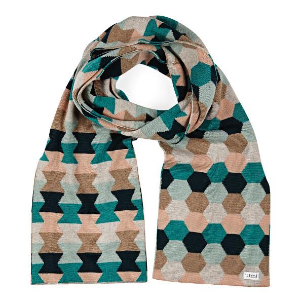 Honey scarf - Peacock