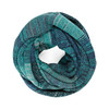 Marley scarf - Peacock