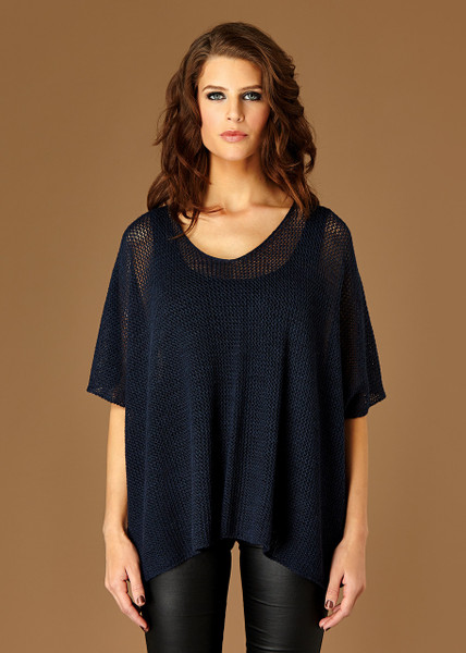 Maya poncho - Night (front)