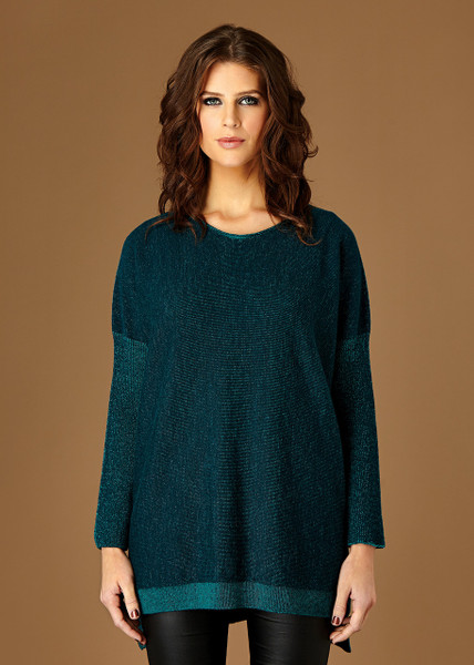 Tabitha jumper - Aniseed (front)