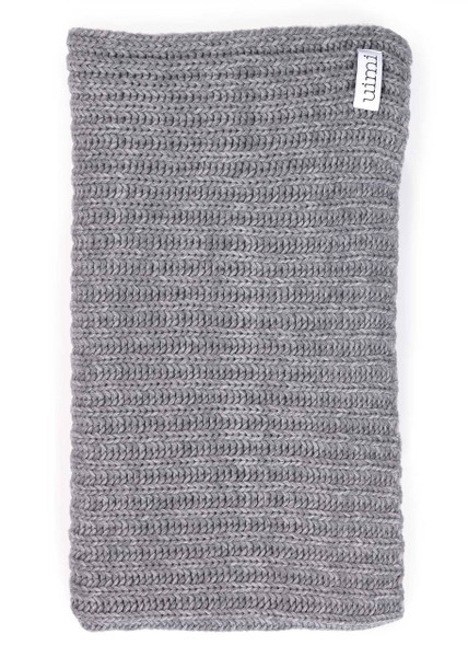 Banjo Blanket - Pebble (folded)