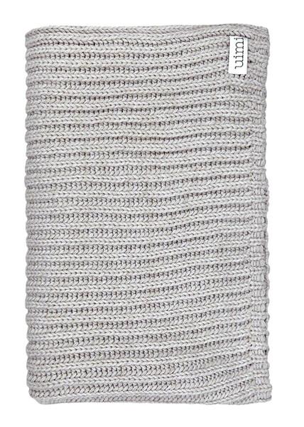 Banjo Blanket - Oyster (folded)