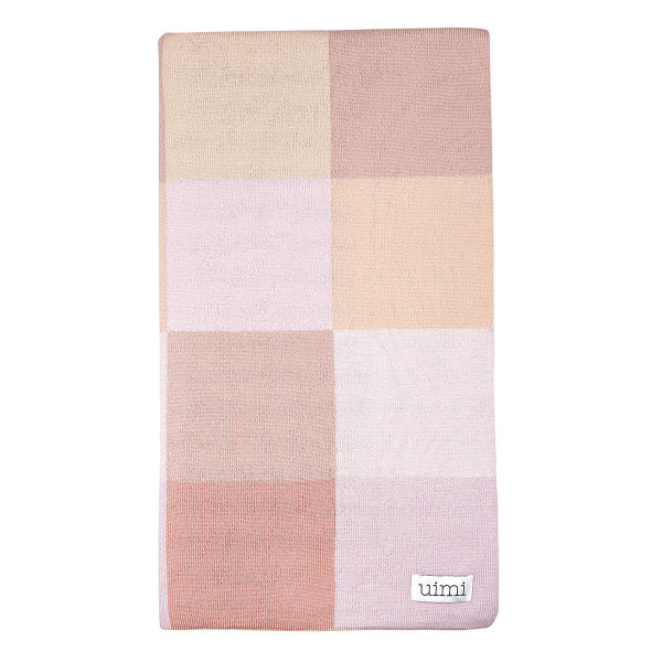 Frankie blanket - Carnation (folded)