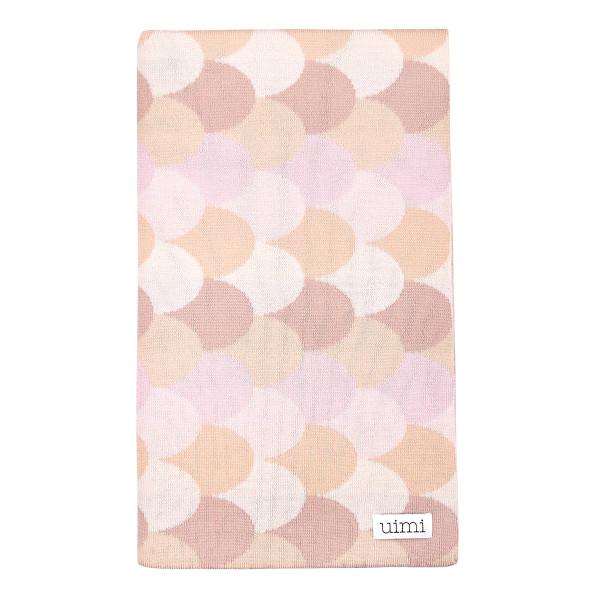 Minnie blanket - Carnation (folded)