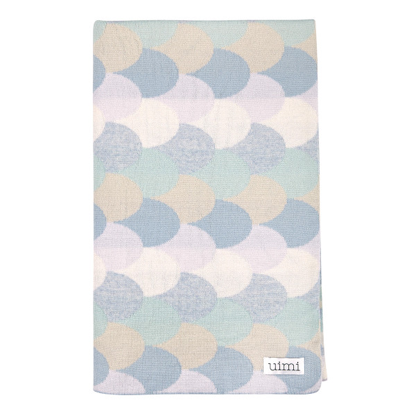 Minnie blanket - Lagoon (folded)