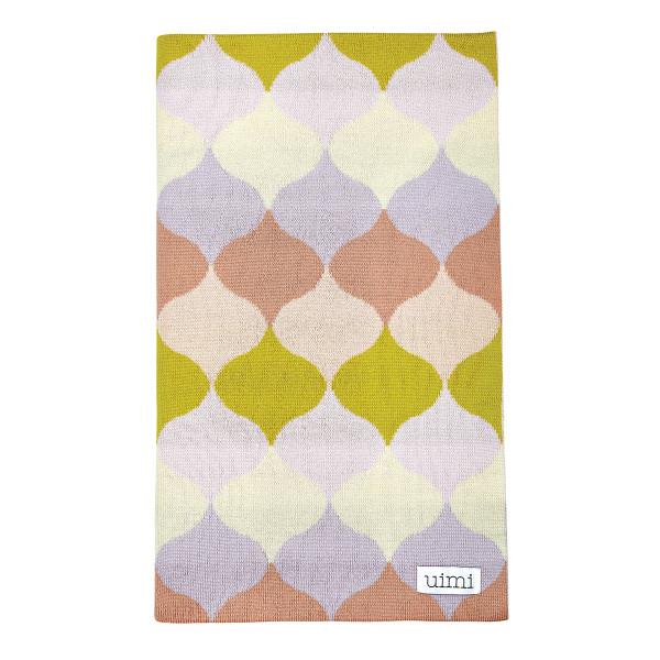 Samara blanket - Buttercup (folded)