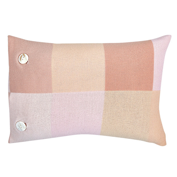 Frankie oblong cushion - Carnation