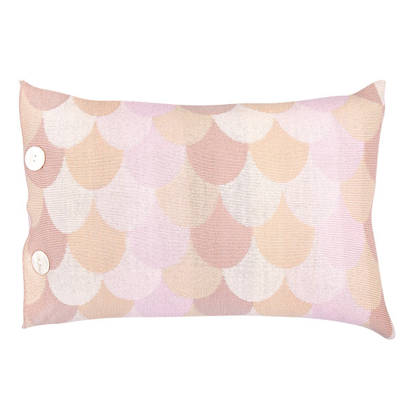 Minnie oblong cushion - Carnation (front)