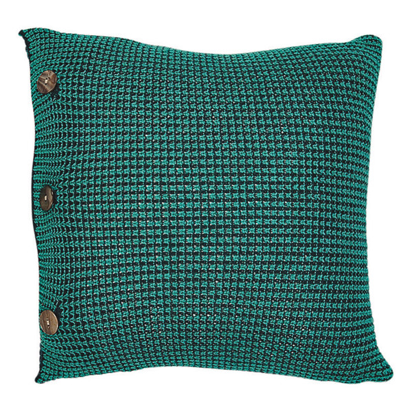 Tatiana square cushion - Peacock