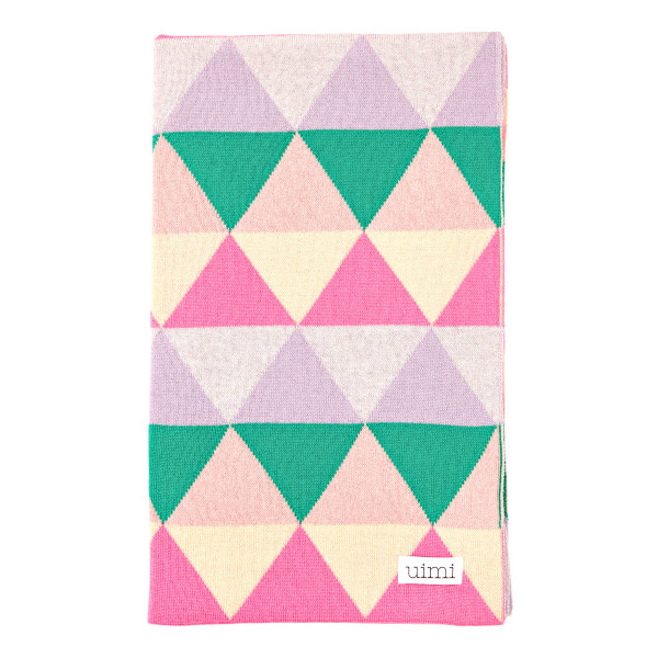 Indiana blanket - Flamingo (folded)