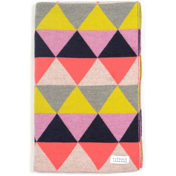 Indiana blanket - Musk (folded)