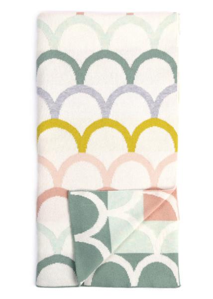 Birdie Blanket - Tea (folded)