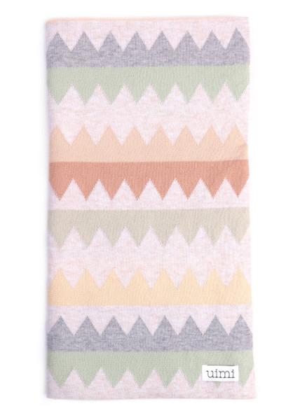 Teeth Blanket - Tea (folded)
