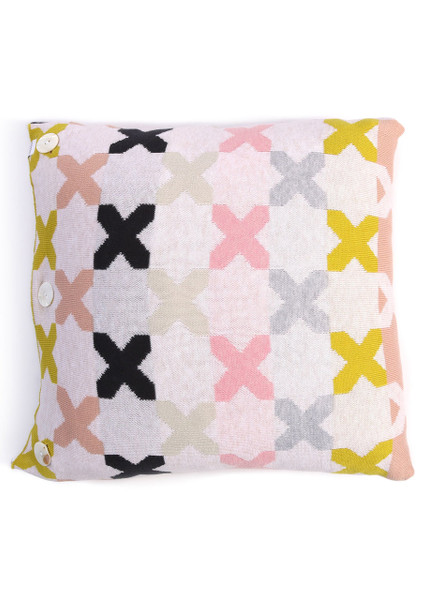 Kisses Square Cushion - Candy